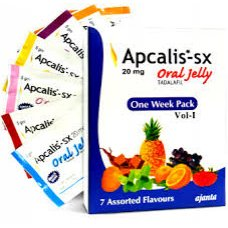Apcalis Cialis JELLY X 28 (Plus 10 Free Cialis Pills)